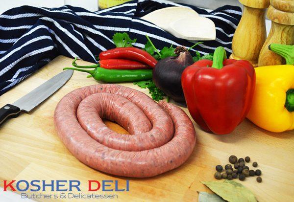 Beef Boerwors Sausage