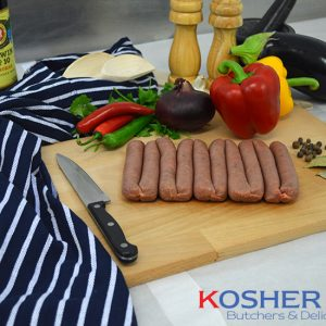 Beef Lincolnshire Sausages