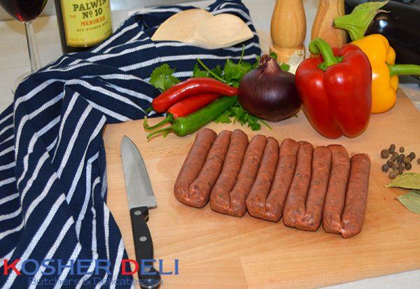 Beef Merguez Sausages