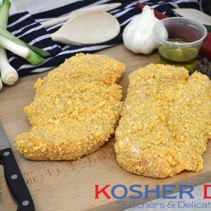 Breaded Turkey Schnitzel